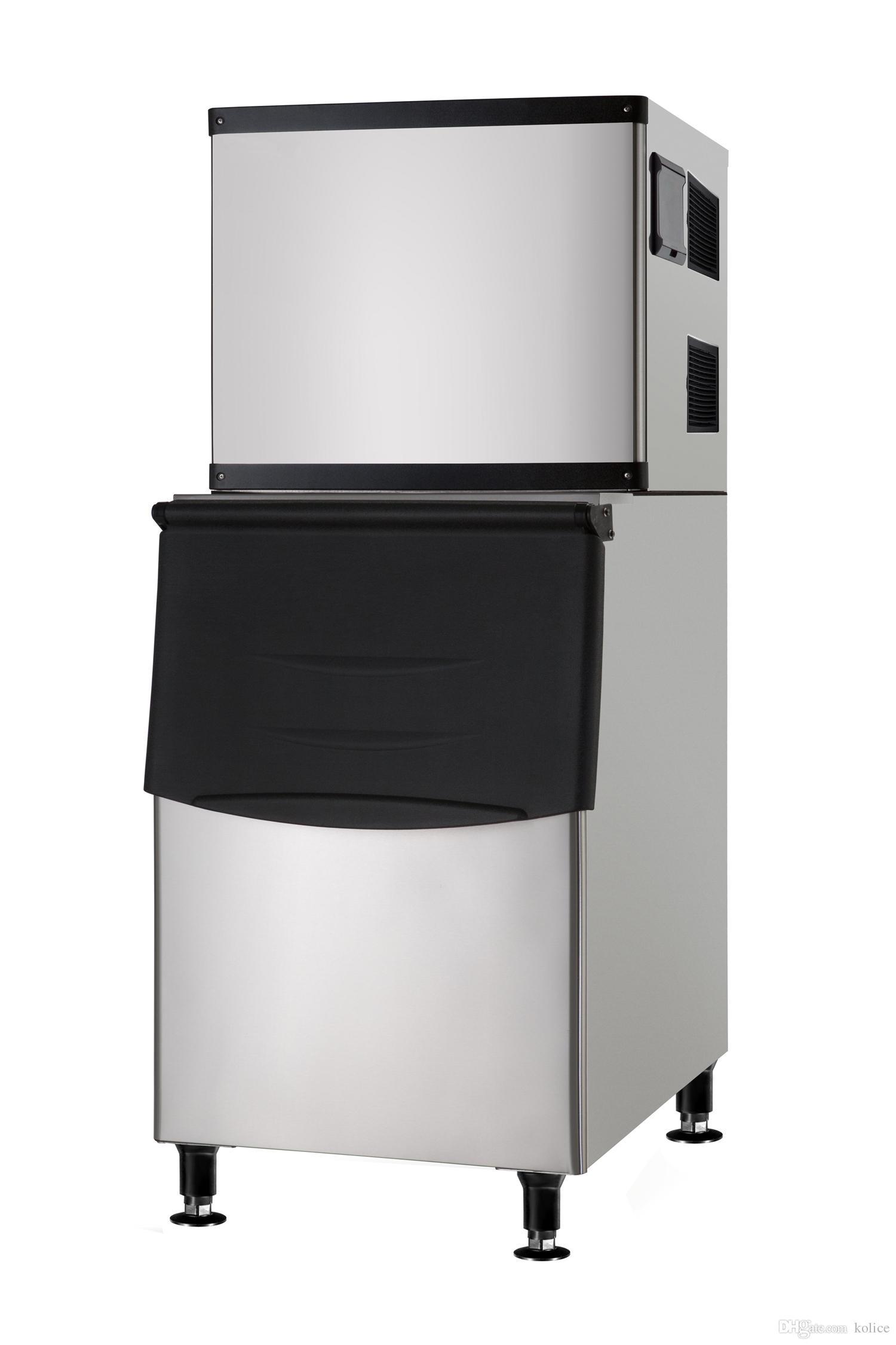 ETL approvato spedizione libera a porta dal tubo del ghiaccio d'aria macchina per fare cubetti macchina ghiaccio cubetti di ghiaccio per l'hotel, bar, caffè, ristorante