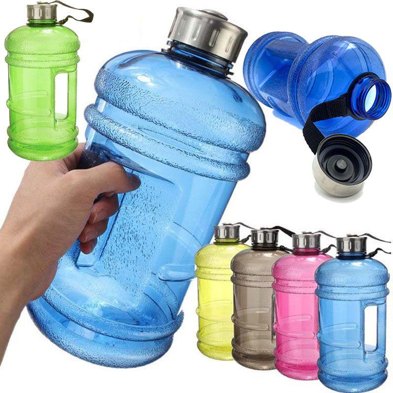 2.2L Large PETG Trinkflasche Isolierflasche Thermosflasche Sports Wasserflasche