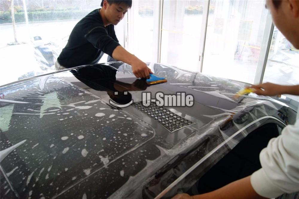 레이어 광택 PPF 지우기 자동차 페인트 보호 비닐 필름 포장 크기 : 1.52 * 15m / 롤