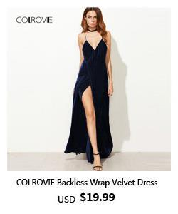 373225f64f X COLROVIE Burgundy Velvet Bodycon Midi Dress Autumn Women Elegant ...