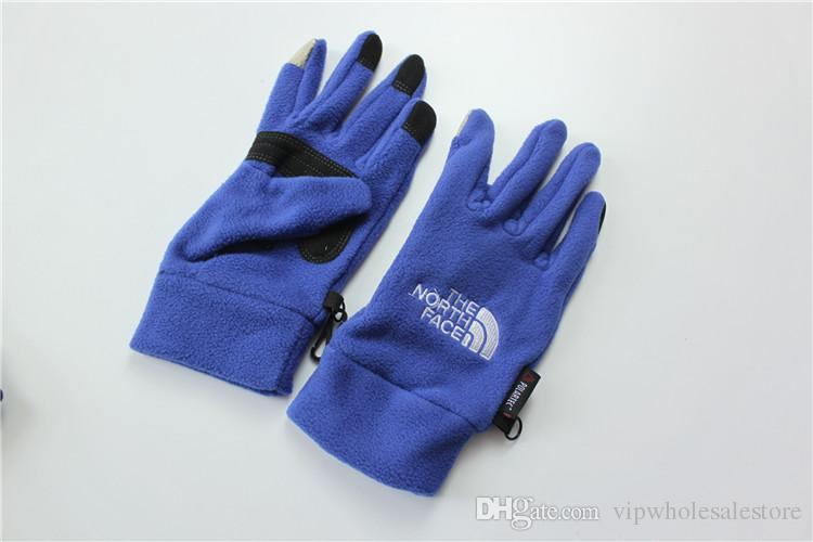 Dropshipping Waterproof TN'F Gloves Touch Screen Gloves The Norh Outdoor Sport Face Warm Full Finger Guantes Gloves Cell Phone Touch iGloves