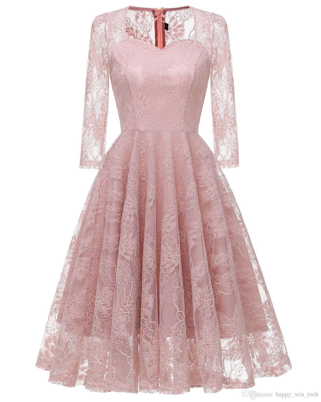 bb4506ca6c76c4f Девушка кружева с длинным рукавом Холтер выдалбливают вышитые Сексуальная  свадьба вечернее платье женщины цветок кружева печатных ...