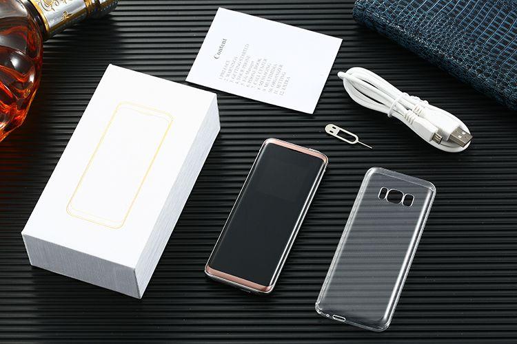 """Yeni Oeina XP10 MT6261DA 1.54 """"Mini Dokunmatik Ekran 500 mAH Telefon 2 Sim 2 bekleme telefon Bluetooth MP3 Kamera Feneri Cep Telefonları"""