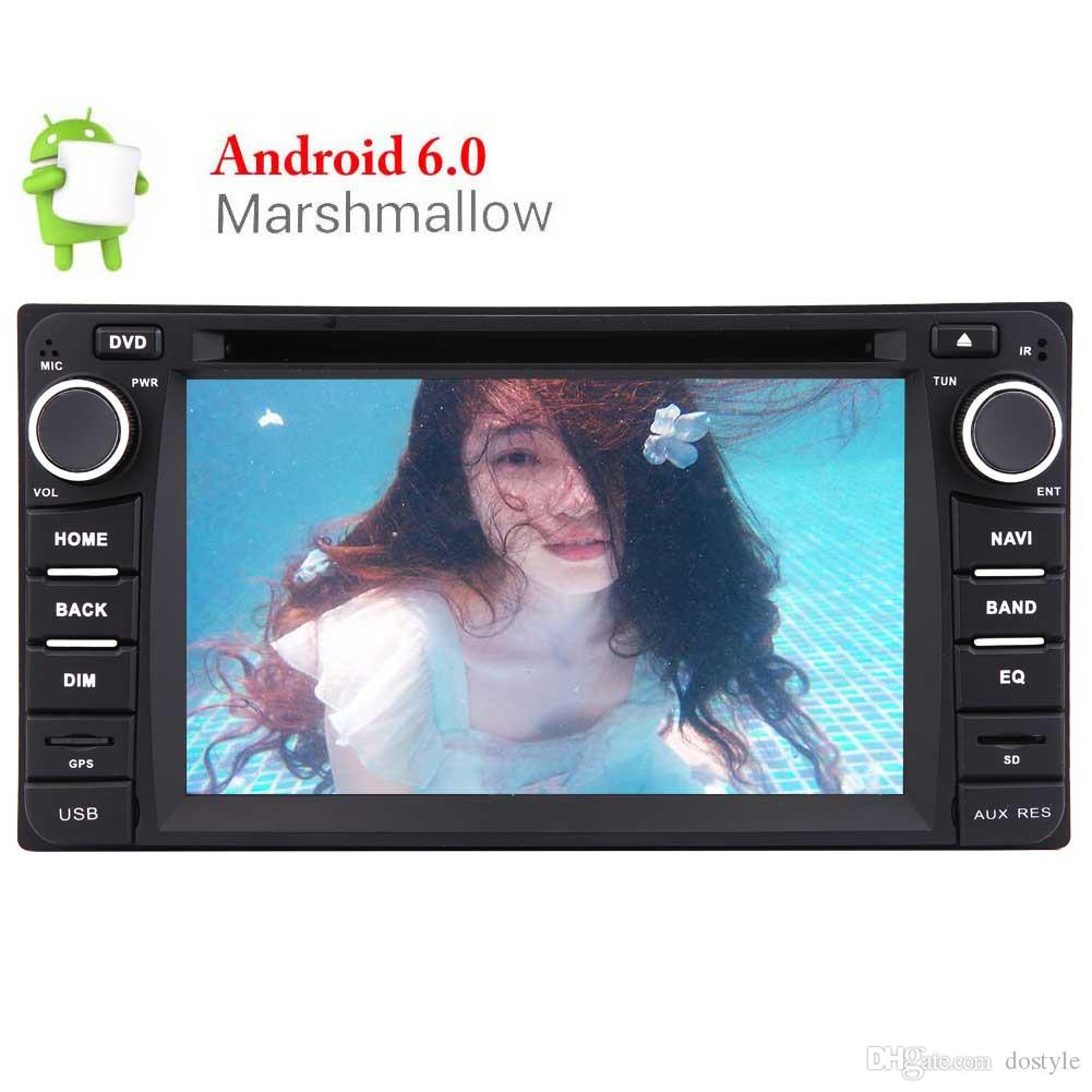 Android 6.0 Marshmallow Car DVD Player for TOYOTA Corolla EX 6.2'' Touch Screen Car Stereo GPS Navigation In Dash Bluetooth Headunit