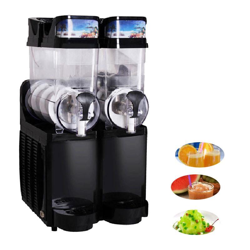 Beijamei Usine prix deux cylindre slush machine commerciale industrielle neige fondre machine 110 v 220 v boisson froide machine