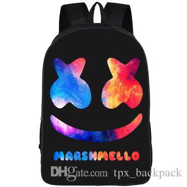 Dotcom рюкзак мешок досуг пакет Chris Comstock Top Sport Day School Marshmello Packsack Качество открытый DJ SCOLDBACK RUCKSACK DayPack EKJM