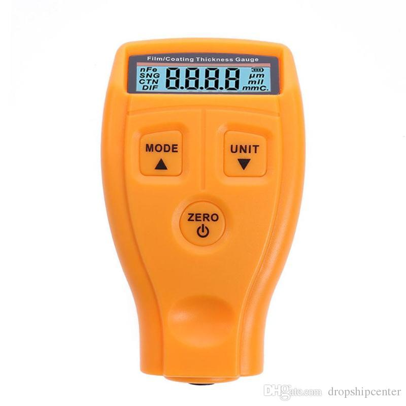 GM200 Russian Manual Thickness Gauge Digital Paint Coating Thickness Gauge Meter Ultrasonic Film Car Thickness Tester Meter Tool