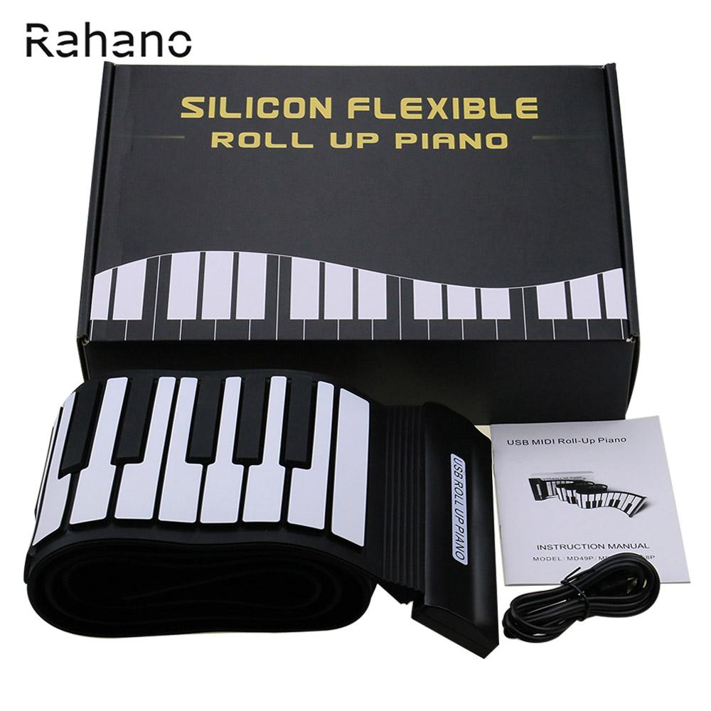 2020 New Arrival Silicone Flexible Keyboard Midi Roll Up Electronic Piano Usb 88 Keys Musical Instruments From Lvzhimusic001 71 57 Dhgate Com