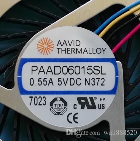 Новый радиатор для MSI GE62VR GE72VR GP72VR GP62MVR GL62M процессора радиатор процессора вентилятор охлаждения кулер PAAD06015SL N366 PAAD06015SL N372