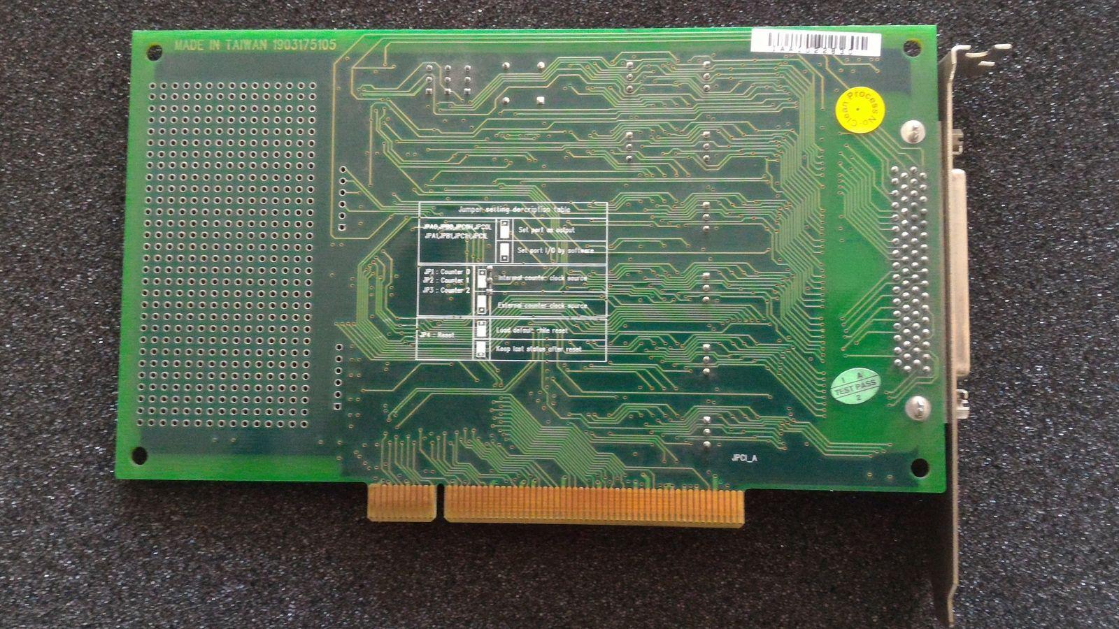 PCI-1751 48-канальный цифровой ввод/вывод и 3-канальный счетчик оборотов PCI карты.A1 02-2