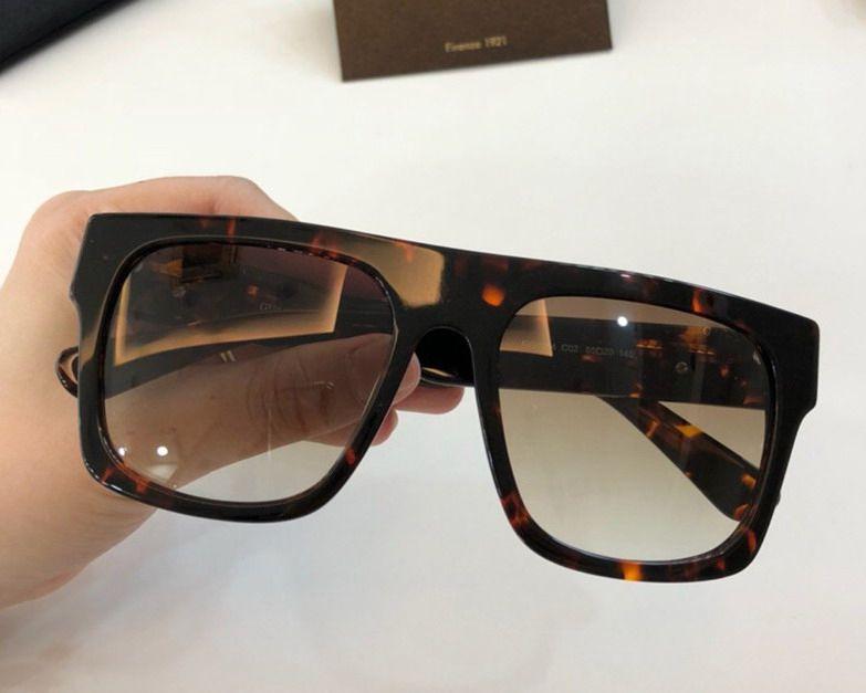 Quadrados Moda óculos para as Mulheres com o pacote de frete grátis vidros de sol verdes Sunglasses 2018 Novo para o verão NUMGG180926-8