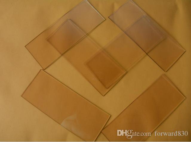 100x40x1.1mm, 10 ohms / sq, verre transparent d'oxyde d'étain d'indium du laboratoire 25pcs verre