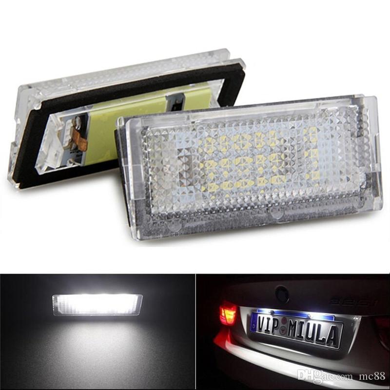 6000K Blanc 18 LED Plaque D'immatriculation Lampes Assemblage Ensemble Pour BMW Série 3 E46 4D 1998-2003