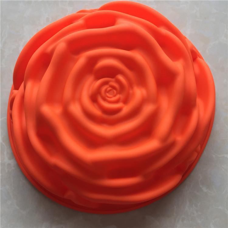 ديي قالب الكعكة واحدة سوف زهرة هلام السيليكا القرص القرص مشوي نموذج مقاومة درجات الحرارة العالية سهلة نظيفة يمكن إعادة استخدامها