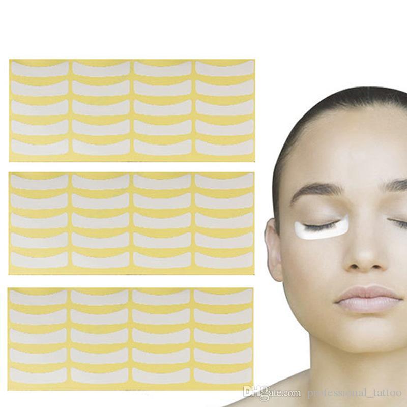100pairs/bag Wholesale Paper Patches Eyelash Under Eye Pads Lash Eyelash Extension Paper Patches Eye Tips Sticker Wraps
