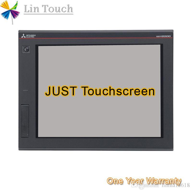 NUOVO GT2712-STBA GT2712-STBD GT2712-STWA GT2712-STWD HMI PLC touchscreen membrana touchscreen del pannello Usato per riparare touchscreen