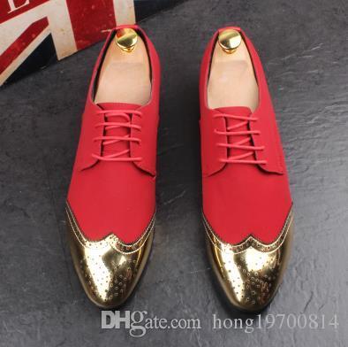 Mocasines de hombre de moda Slip on club nocturno británico Zapatillas de terciopelo casuales Zapatos de vestir británicos Planos de hombre Zapatos de boda y fiesta