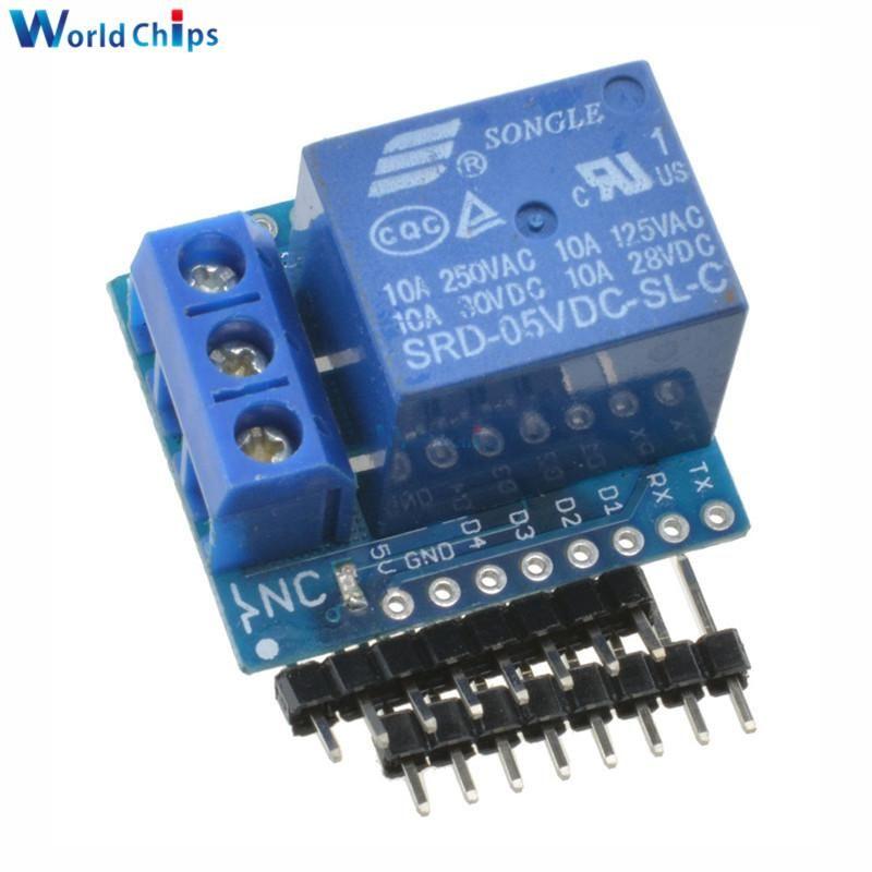 1Set Wemos D1 Mini Shield Módulo D1 de un canal para la placa de desarrollo Arduino ESP8266 Envío gratis