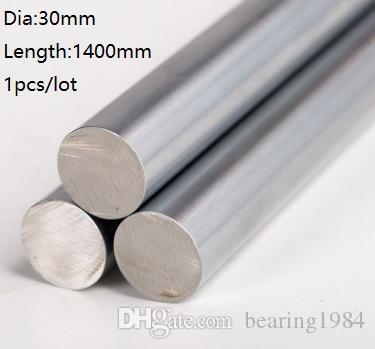 1 шт. / лот 30x1400 мм диаметр 30 мм линейный вал 1400 мм долго закаленный вал подшипник хромированный стальной стержень бар для 3D принтер частей cnc маршрутизатор