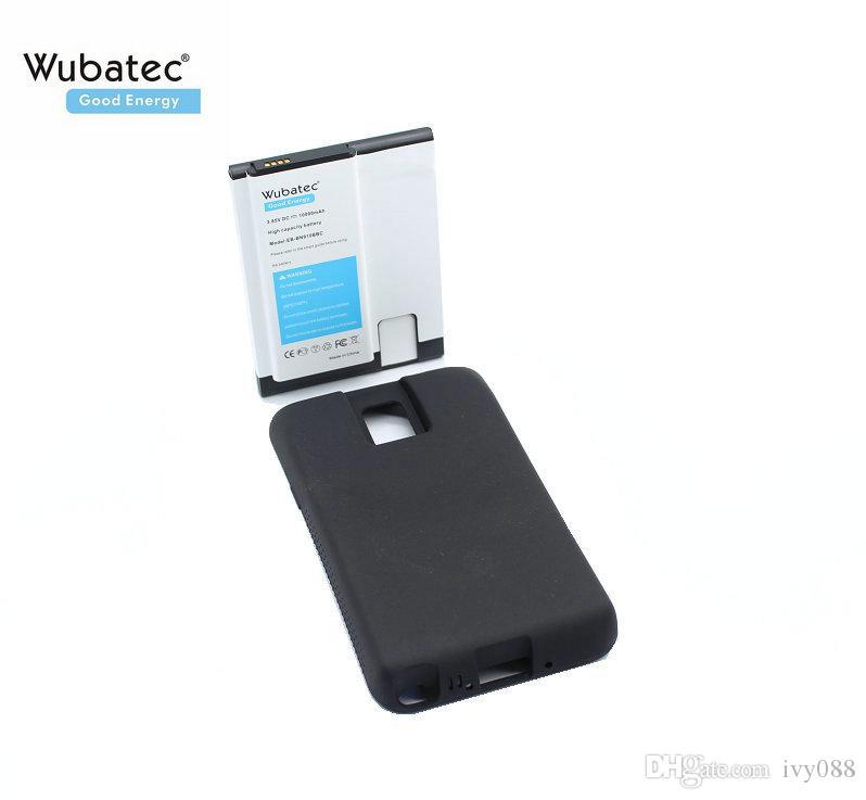 بطارية Wubatec 1x Note 4 NFC Tricell 10000mAh لهاتف Samsung Galaxy Note4 N910F N910C N910V N910T N910G + Case EB-BN910BBE