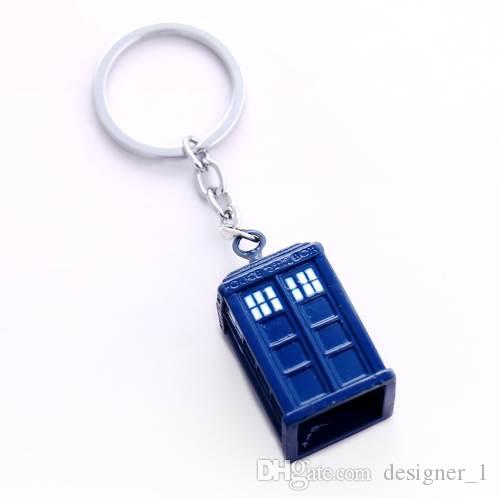 Doctor Who Llavero TARDIS Llaveros Para Regalo Chaveiro Coche Llavero Joyería Movie Key Holder Souvenir YS11116