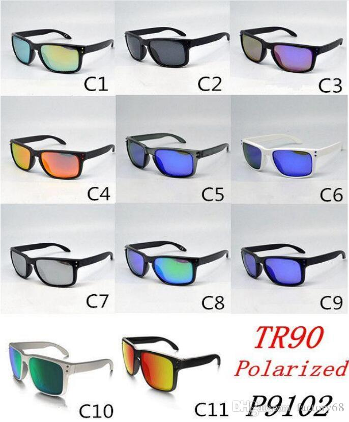 TR90 Picture frame 2017 NEW man women sunglasses 9102 High quality polarizedlens sunglasses color11 MOQ=10