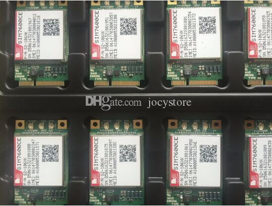 Free Shipping! Wholesale 1 Piece SIM7600CE MINI PCIE module with SIM card slot 4G 100% New&Original Genuine Distributor TDD-LTE/FDD-LTE/WCDM
