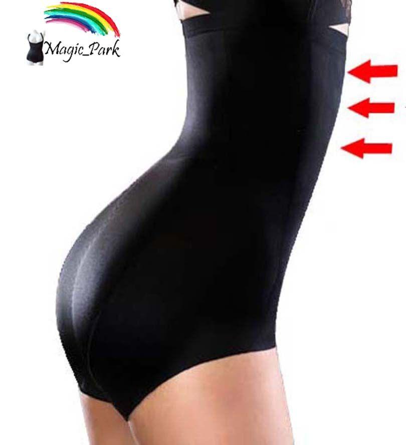 Asian Sz Summer Thin High waist Firm Tummy Control Panties seamless Plus size Body Shaper Shapewear for women Black Panty Shaper