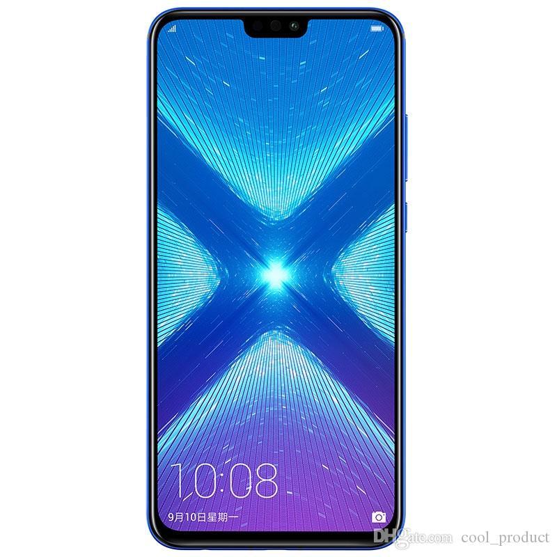 "Original Huawei Honor 8X 4G LTE Cell Phone 4GB RAM 64GB 128GB ROM Kirin 710 Octa Core Android 6.5"" 20.0MP Fingerprint ID Smart Mobile Phone"