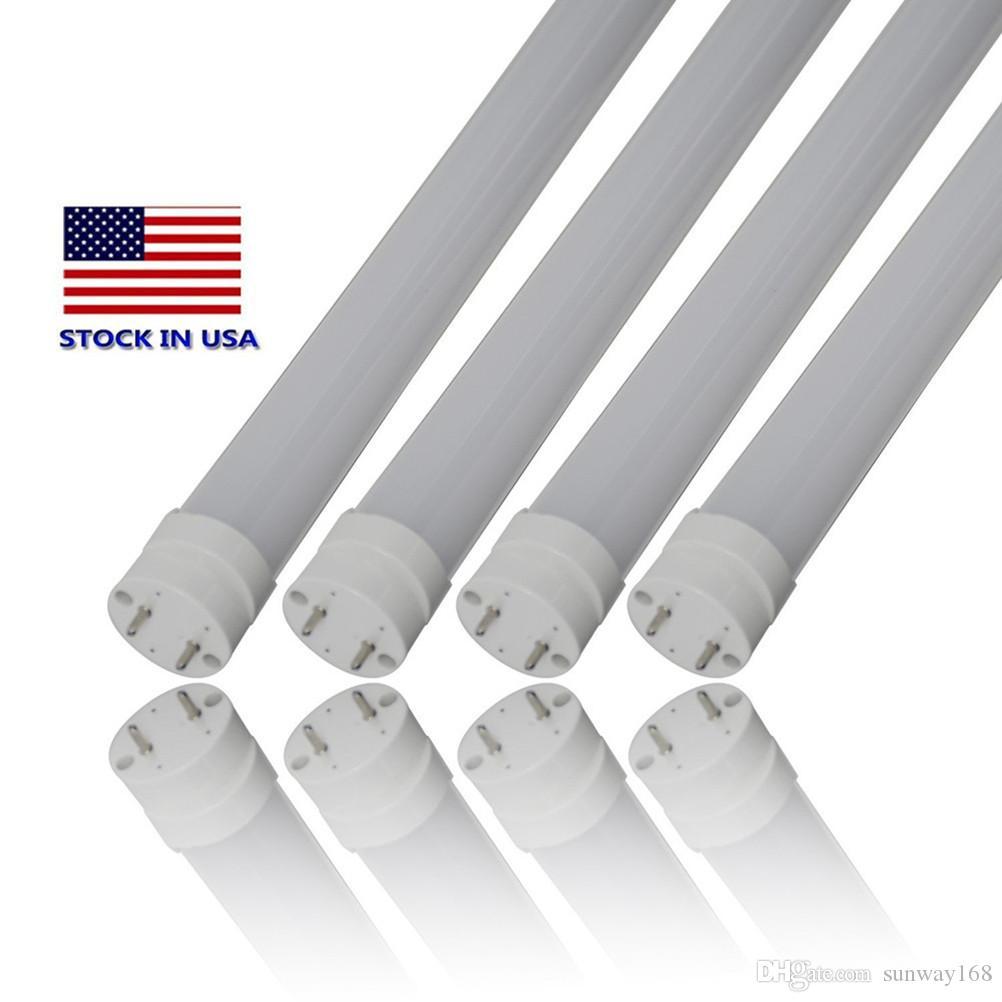t8 led lights 4ft usa SMD2835 Light Lamp Bulb 4 feet 1.2m 1200mm 85-265V led lighting fluorescent lamp 3 year warranty