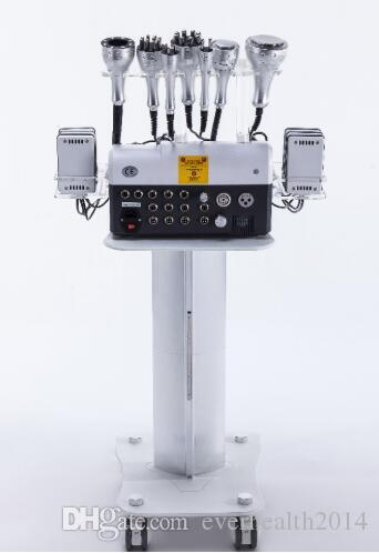 Haute qualité vente chaude nouveau modèle professionnel STM-8036J vide / cavitation / multi-polar RF / refroidissement laser multifonctionnel amincissant la machine