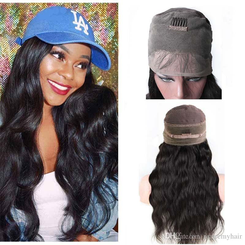 360 Lace Frontal Wigs Pre Plucked Body Wave Brazilian 360 Full Lace Wigs Cheap Brazilian Human Hair Lace Front Wigs For Black Women