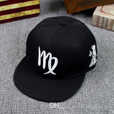 Мода двенадцать 12 созвездий Strapback шапки шляпы Snap back Мужчины Женщины Спорт snapback бейсболка хип-хоп лето регулируемая шляпа