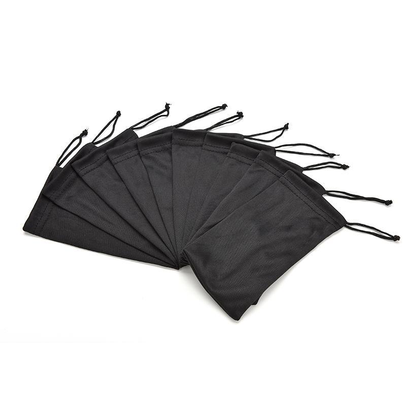 17 * 8.5cm Doux Tissu Lunettes De Soleil Sac Microfibre Poussière Étanche De Stockage Poche Lunettes Carry Bag Portable Eyewear Case Container