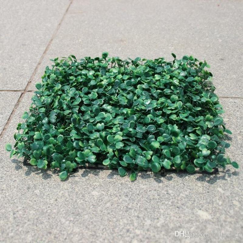 Искусственная трава пластиковый самшит коврик подстриженные дерево Милан Трава для сада, дома свадебные украшения Искусственные растения 50 шт. / Лот
