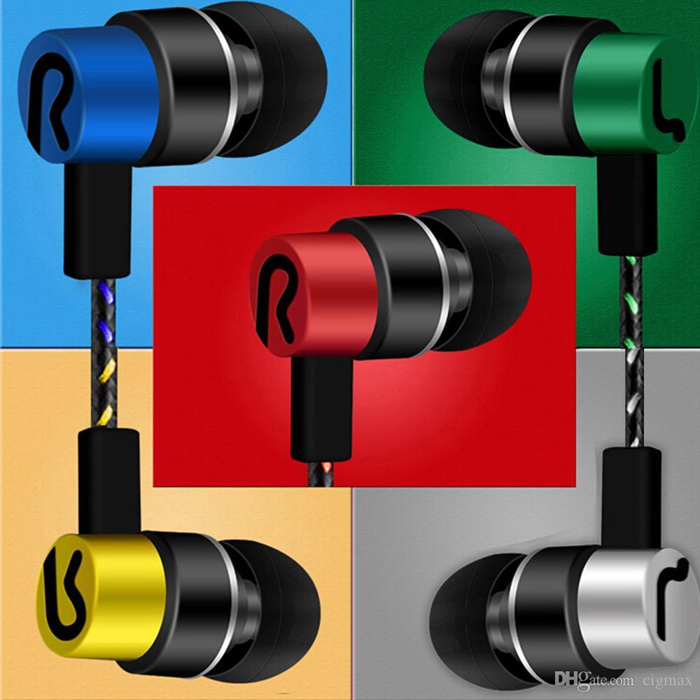 Estéreo -auriculoterapia auriculares estéreo para música del teléfono celular Auricular estéreo bajo auriculares con sonido de cancelación de ruido