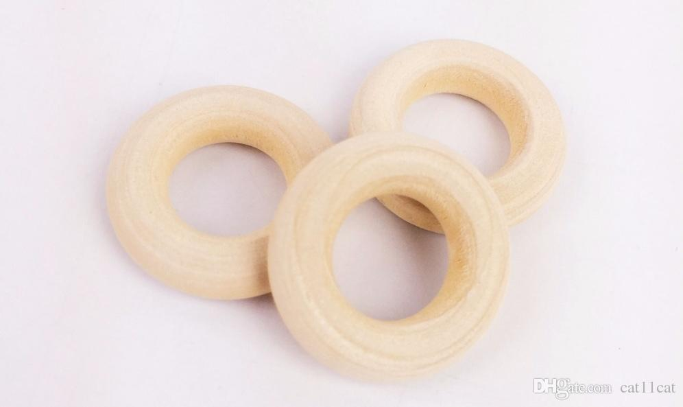 2019 Natural Teething Wooden Rings 25mm Unfinished Wood Teething Rings For Baby Teether Toys Non Toxic From Catlam1113 9 78 Dhgate Com