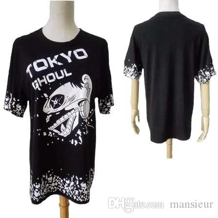 Cute Unicorn Tokyo Ghoul t shirt short sleeve t-shirt casual tshirt men women clothing anime cosplay costume summer Tops & Tees