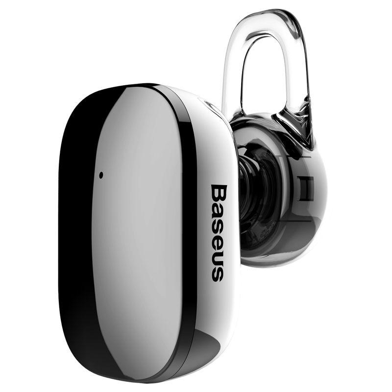 Baseus Bluetooth Auriculares Auriculares A02 Mini en la oreja los auriculares estéreo inalámbrico con el Mic para el teléfono y la tableta