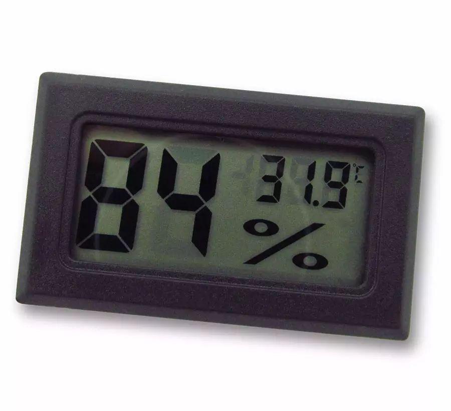 Hygromètre de température de réfrigérateur de promotion FY-11 -50-70C 10% ~ 99% HR tête de détection RH Mini LCD Numérique Accueil Humidité Compteur D'humidité