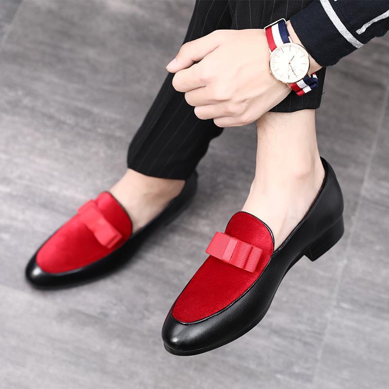 emphasize slip on formal