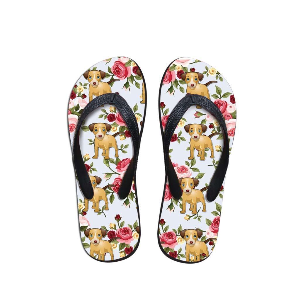 all'ingrosso Hawaii divertente ragazze carine scarpe estate signora pantofole casual corgi Hound gruppo bassotti stampa donne infradito goccia