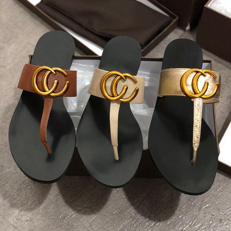 pantofole di marca del progettista freddi estate Donna sandali di alta qualità di modo delle signore pattini esterni della spiaggia pattini di appartamento dell'interno Flops Slippers w01