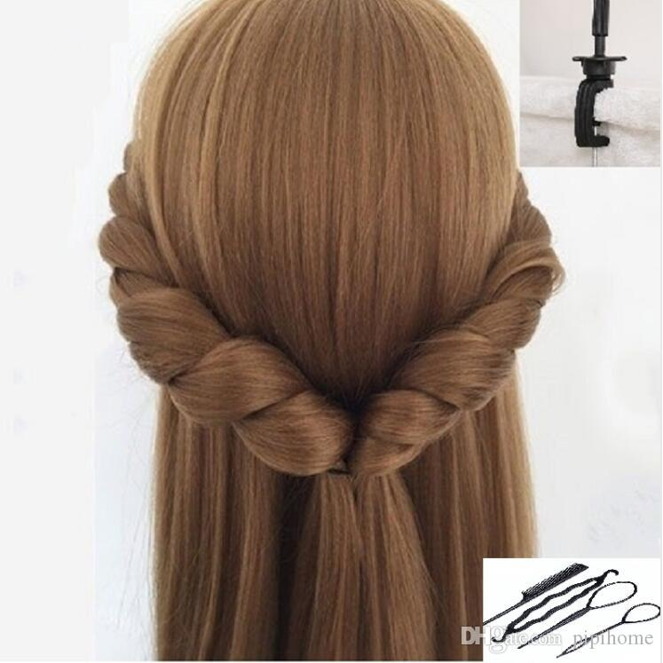 Acheter Cheveux Blonde Cheveux Mannequin Tetes Blonde Perruque Tete Coiffure Modele Coiffure Formation Tete Livraison Gratuite De 27 51 Du Pipihome Dhgate Com