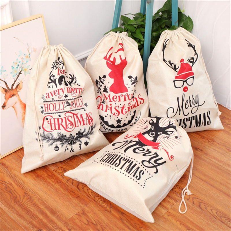 Christmas gift bag Santa sack