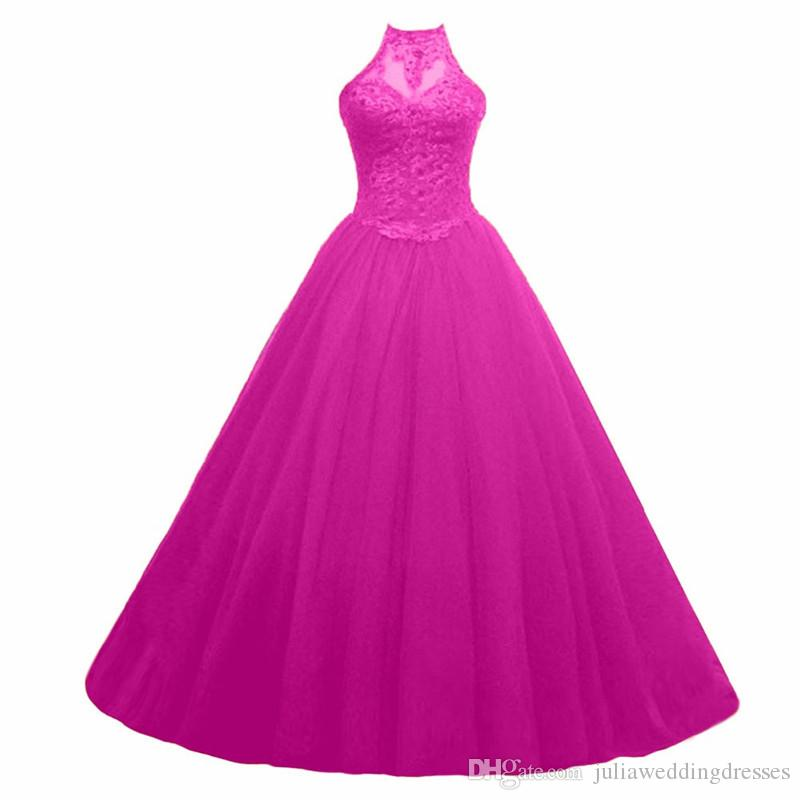 2017 Sexy Off The Shoulder Backless Appliques Ball Gown Quinceanera Dress withTulle Plus Size Sweet 16 Dress Vestido Debutante Gowns BQ140