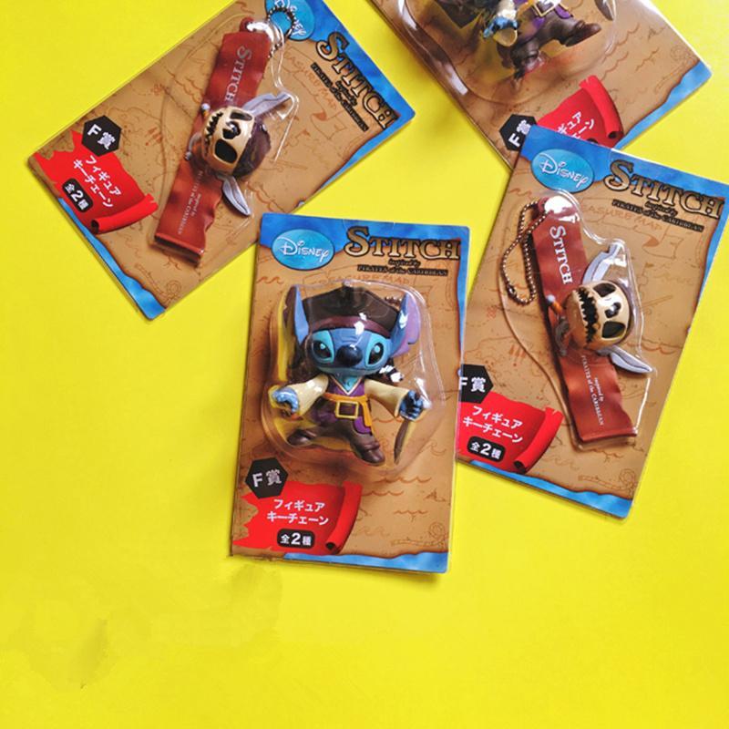12pcs / lot 7cm point de pirate mignon figure d'action jouets point pendentif figure jouets modèle de collection adorable meilleurs cadeaux