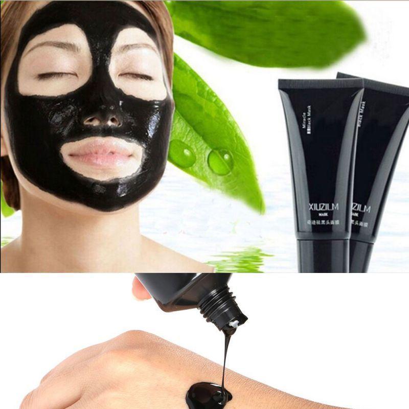 Face Care Suction Black Mask Facial Mask Nose Blackhead Remover Peeling Peel Off Black Head Acne Treatments Face Care 60g