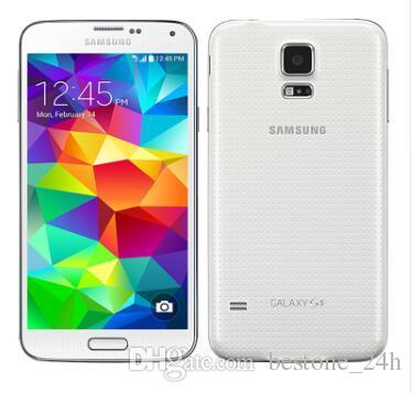 """Desbloqueado Original Samsung Galaxy S5 G900A G900T G900P G900F 5.1"""" Super AMOLED Quad Core 16GB ROM NFC Recuperado"""
