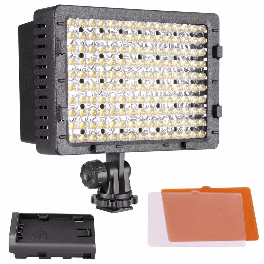 wholesale 160 LED CN-160 Dimmable Ultra High Power Panel Digital Camera / Camcorder Video Light, LED Light for Digital SLR Cameras